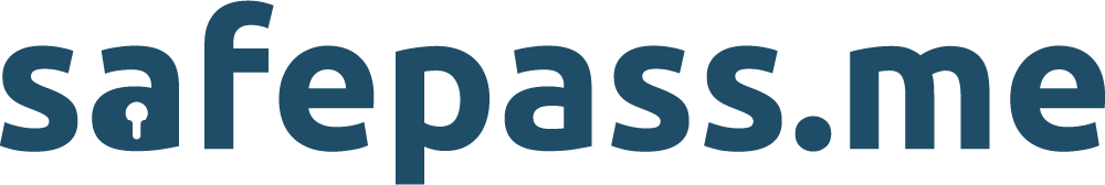 safepass.me logo blue